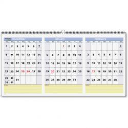 Three-Month Calendar Printing