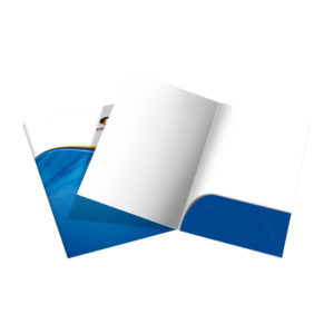 One-Pocket Presentation Folder Printing