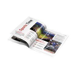 Sports Magazine Printing