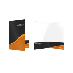 Two-Pocket Presentation Folder Printing