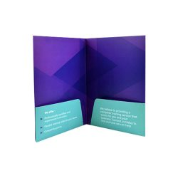 Two-Pocket Presentation Folder Printing