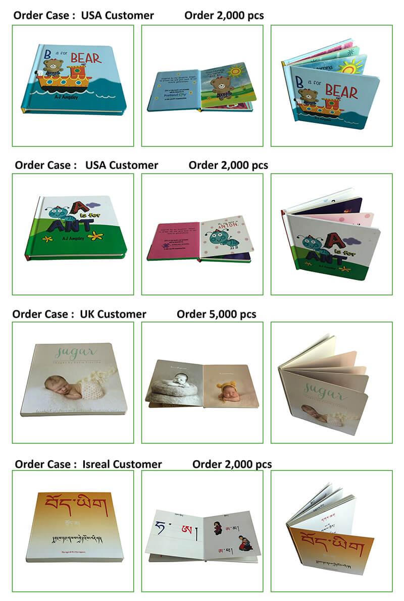 Children Cardboard Book