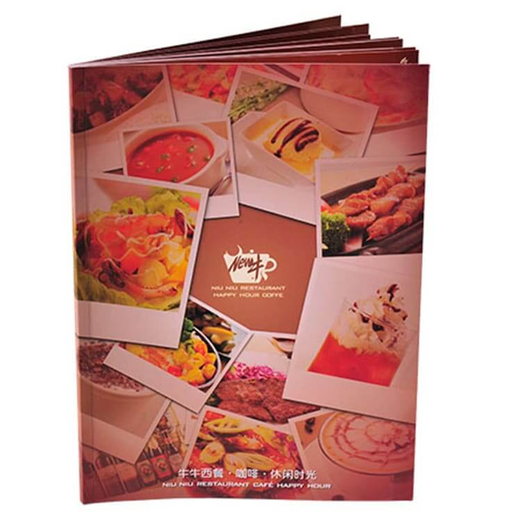Restaurant Book Printing