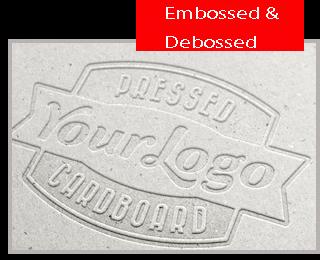 Embossed & Debossed
