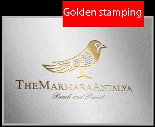 Golden stamping