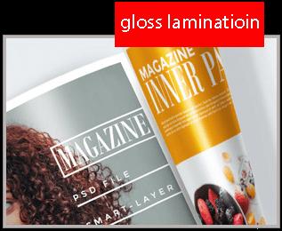 gloss laminatioin