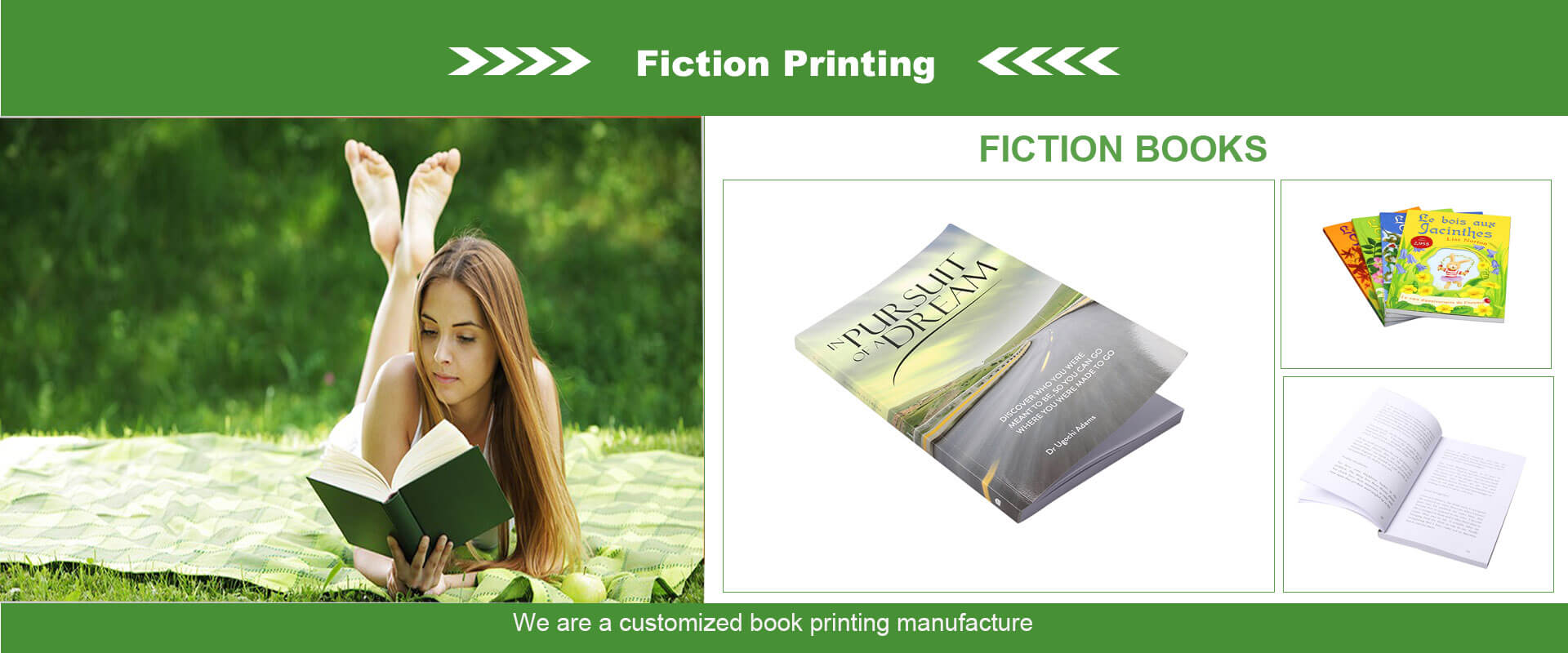 Fiction Book Printing