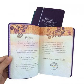 China hot products pu leather cover book printing with good price/high quality