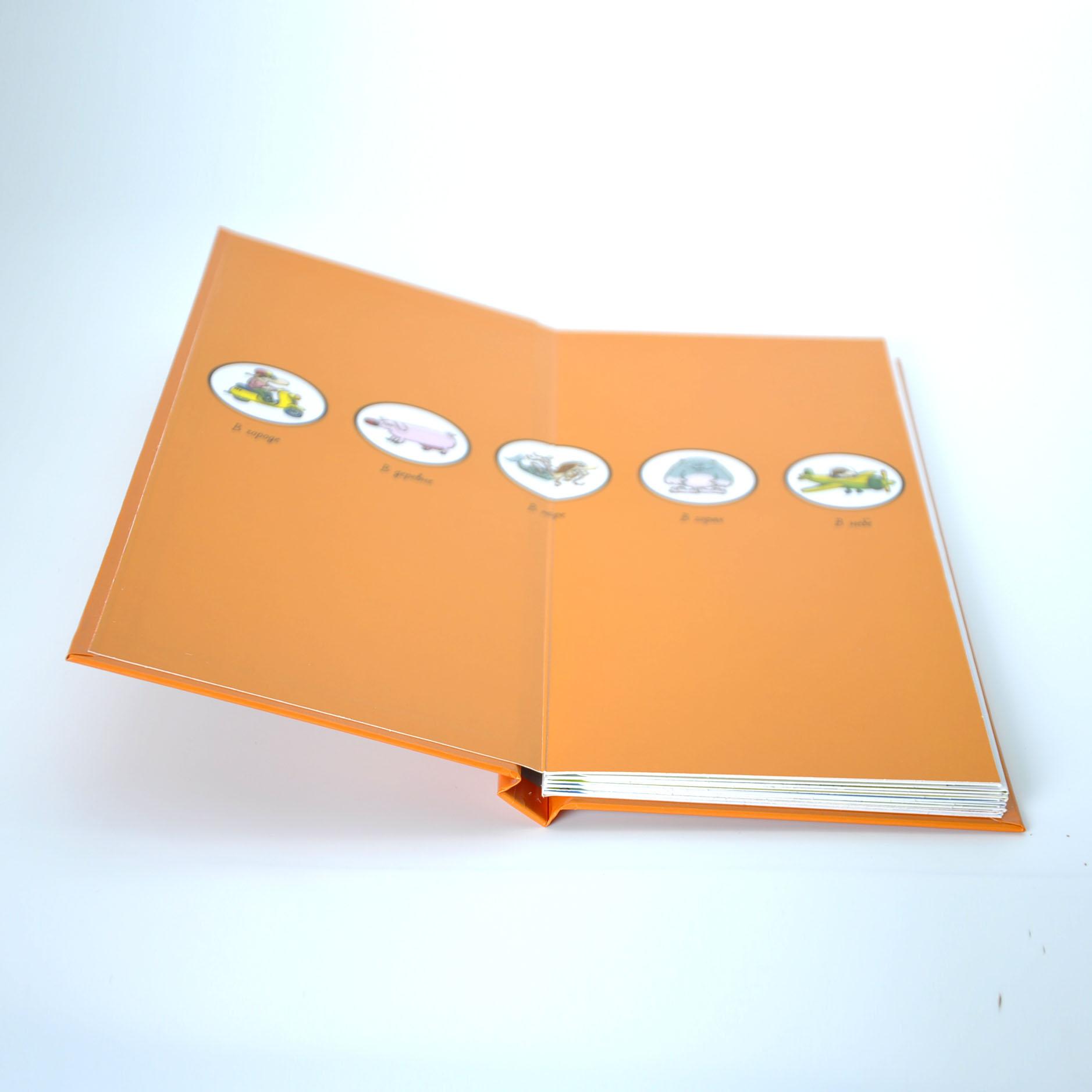 Custom softcover book