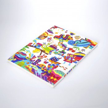 Custom OEM design CMYK Saddle stitching binding Matt laminated Small/Mini Booklets/Book Printing