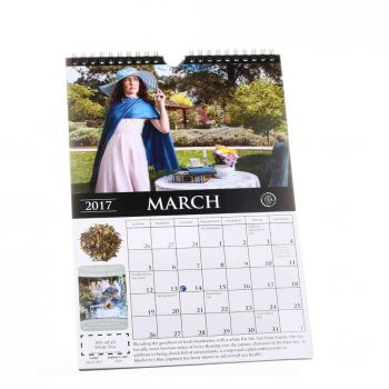 Hot sale full color custom 2020 wall calendar printing