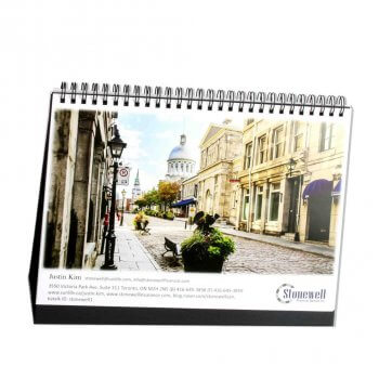 Quality printing shines through you need better table calendar
