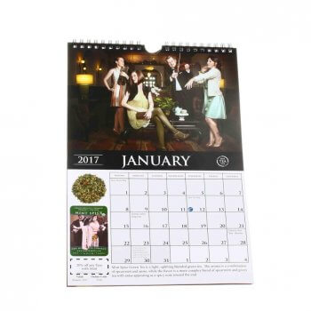 Customized top quality large countdown wall calendar