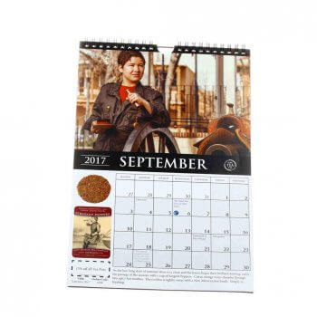 Meet your special demand wire-o binding wall hanging calendar
