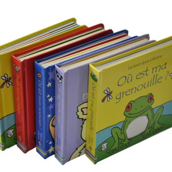 hardcover children book printing in high quality