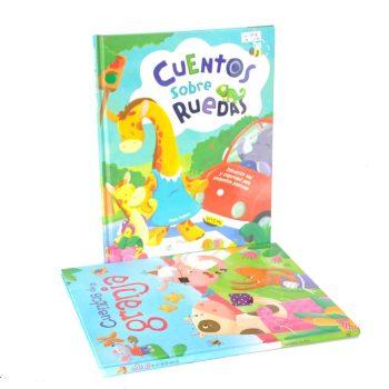 Hardcover children book printing CMYK 4 Color Printing