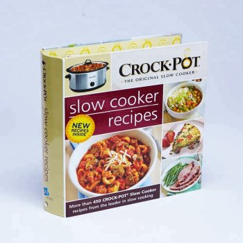 cheap hot sale UV print sweet and cute food cookbook book printing