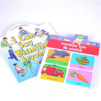 Top quality hardcover custom children card book printing