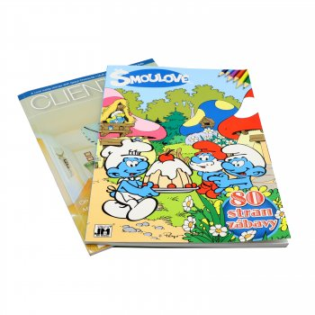 2020 OEM Design color Kids book children cartoon book student school book printing