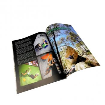 China large quantity low cost fast delivery professional magazine printing house