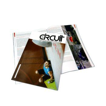 Perfect binding cheap custom matte paper magazine printing