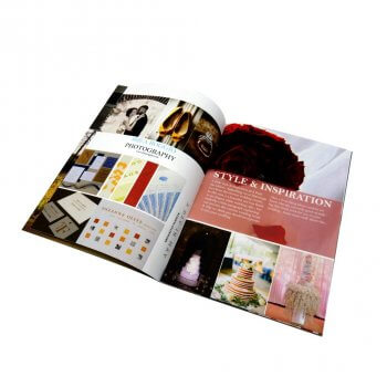 Low cost gloss art paper cheap magazine printing