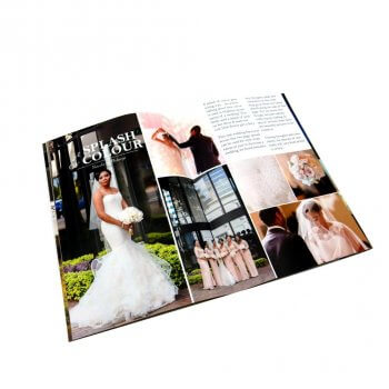 Wholesale custom full color printing 48 pages A4 magazine