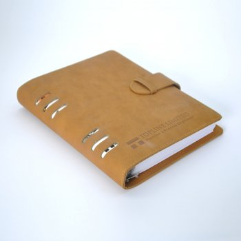 Leather Journal Notebook Custom, Handmade Vintage Refillable Travel journal,Custom Text Notebook printing