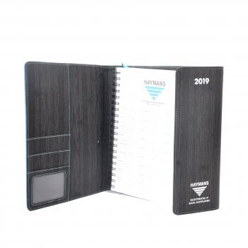 Simple business notepad soft leather notebook office supplies stationery custom printed diary Notebook printing