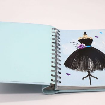 Custom exquisite hardcover perfect binding diary planner notebook printing
