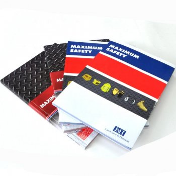 promotional softcover book printing with factory price