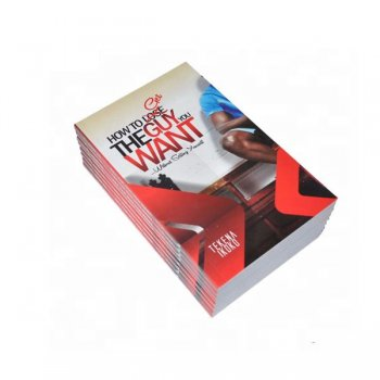 Cheap Softcover Paperback Book Printing With Spot UV