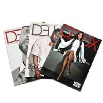 Cheap professional bulk customized softcover catalogue adult fashion magazine printing service